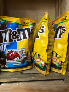 1.2kg M&M's Peanut, Crunchy & Chocolate Mix (3 Packs of 400g)