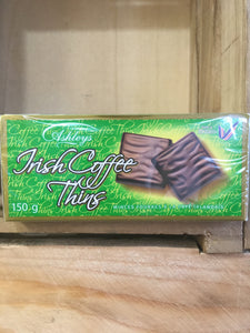 Ashleys Irish Coffee Thins 150g
