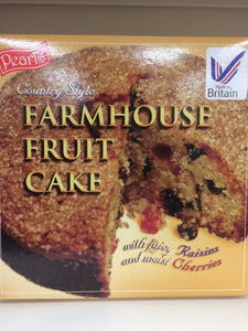 Pearl's Country Style Farmhouse Fruit Cake