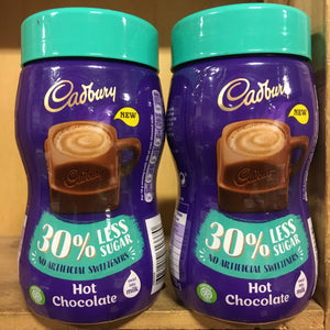2x Cadbury Hot Chocolate 30% Less Sugar (2x280g)