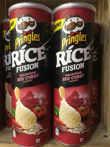 5x Pringles Rice Fusion Malaysian Red Curry Flavour (5x160g)