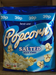 Best-One Salted Popcorn 34g