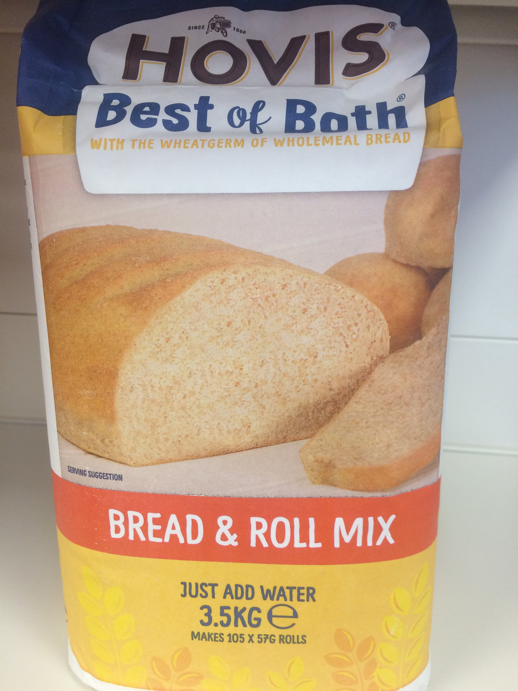 Hovis Best of Both Bread & Roll Mix 3.5kg - Just Add Water