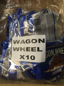 10x Mis-Shape Wagon Wheels Jammie (10x Pack)