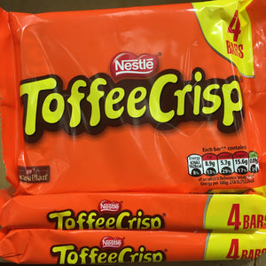 12x Toffee Crisp Milk Chocolate Bars (3 Packs of 4x31g)