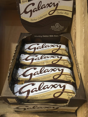 24x Galaxy Darker Milk Chocolates (24x42g)