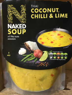 Naked Soup Thai Coconut, Chilli & Lime 300g