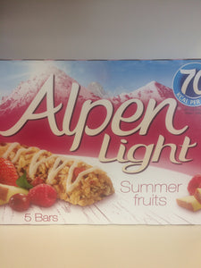 Alpen light summer fruit bars 5x 19g low price foods ltd alpen light summer fruit bars 5x 19g aloadofball