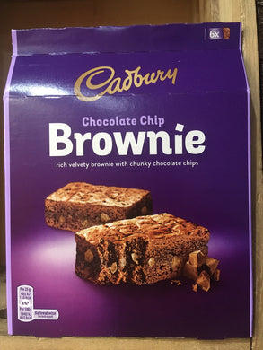 24x Cadbury Chocolate Chip Brownies (4x6 Pack)