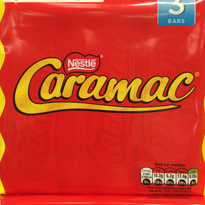 9x Nestle Caramac Bars (3 Packs of 3x30g)