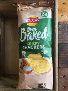 Walkers Baked Salt & Vinegar Crisps 5 Pack 5X25g