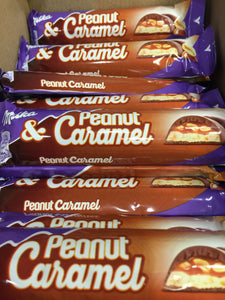 36x Milka and Peanut Caramel Chocolate Bar (36x37g)