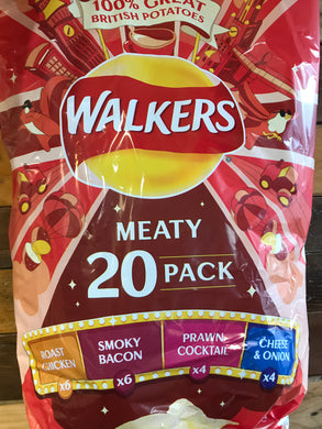 Walkers Meaty 20 Pack (20x25g)