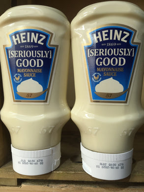 2x Heinz Seriously Good Mayonnaise Squeezable (2x395g)