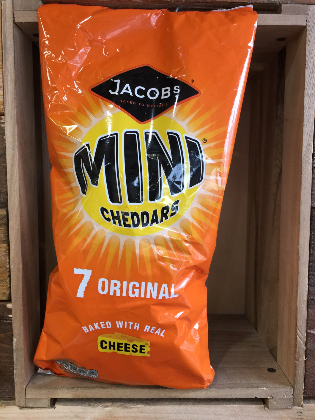 Jacobs Mini Cheddars Cheese 7Pack 175g