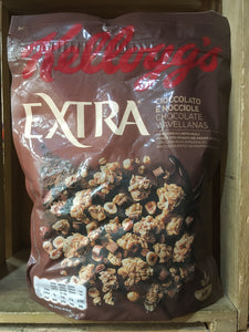 Kellogg's Extra Chocolate Chips & Hazelnut Cereal 375g