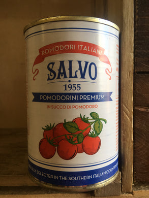 Salvo Premium Italian Cherry Tomatoes in Tomato Juice 400g