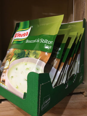 10x Knorr Broccoli & Stilton Soup Mix (Serves 4 each) (10x60g)