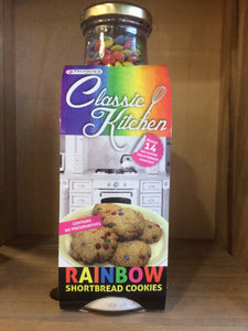 Classic Kitchen Rainbow Shortbread Cookies 430g