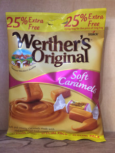 Werther's Original Soft Caramels Bag, 137.5g