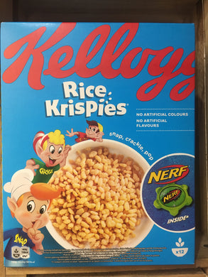 Kellogg's Rice Krispies (with Free Nerf Sports) 375g