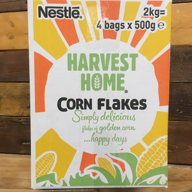 2Kg Nestle Harvest Home Cornflakes (4x500g Packs)