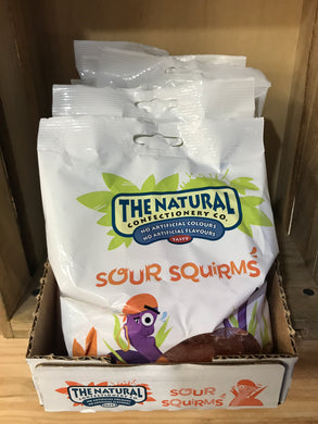 7x The Natural Confectionary Co. Sour Squirms (7x160g)
