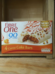Fibre One Carrot Cake Bars 4x25g