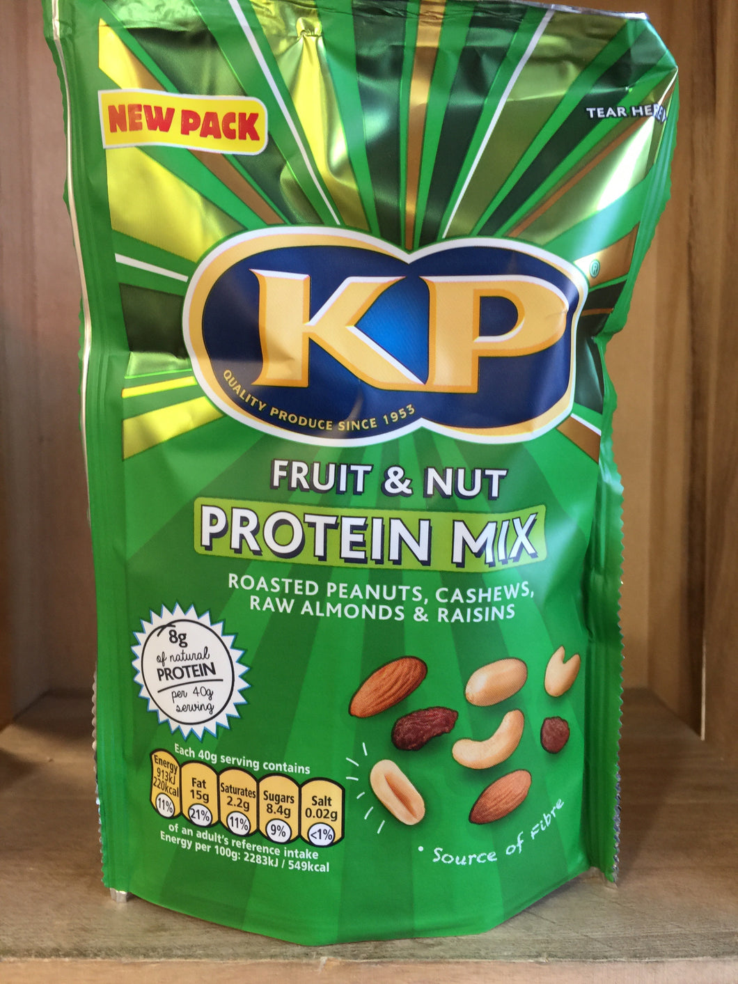 KP Fruit & Nut Protein Mix 120g