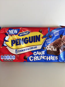 McVitie's Penguin 5 Cookies & Cream Cake Crunchies