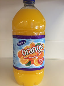 Geebee Orange Double Strength Squash 1.5 Litre