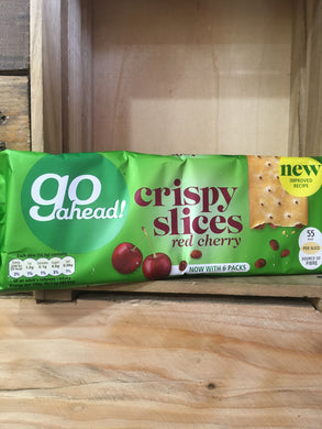 Go Ahead Crispy Slices Red Cherry 6x Packs of 3x Slices 262g