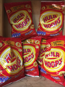 24x Hula Hoops Original Potato Rings (24x34g)