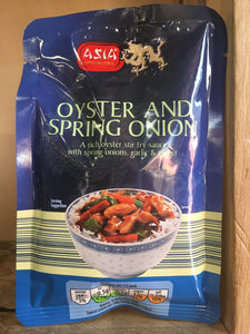 Asia Specialities Oyster and Spring Onion Stir Fry Sauce (2 Servings) 120g