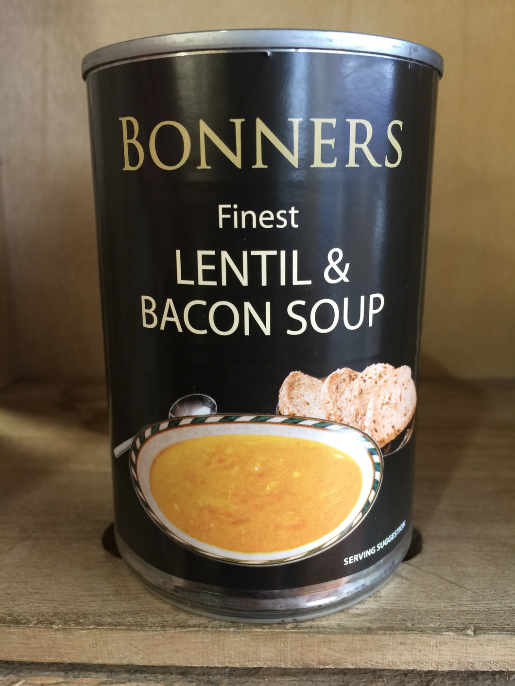 Bonners Finest Lentil & Bacon Soup 400g