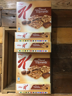 30x Kelloggs Special K Biscuit Moments Chocolate Bars (6x5x25g)