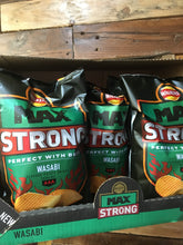 9x Walkers Max Strong Wasabi Crisps Sharing Bags (9x150g)