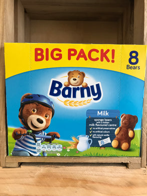 Barny Big Pack Milk Sponge Bears 8x30g
