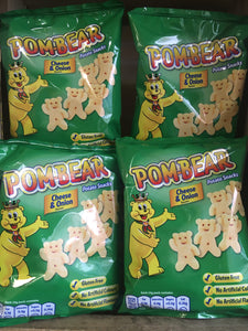 30x Pom-Bear Cheese & Onion (5x6x13g)