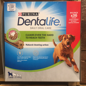 36x Purina Dentalife Large Dog Chews (12 Packs of 3)