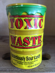 Toxic Waste Sour Candy 42g