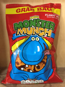 Monster Munch Flamin' Hot Grab Bag 40g