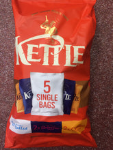 Kettle Chips Multipack Variety Box of 12x Multipack 5x 30g Bags