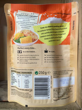 Uncle Bens Microwave Rice Savoury Chicken Flavoured 250g