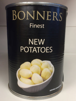 Bonners Finest Peeled New Potatoes 540g