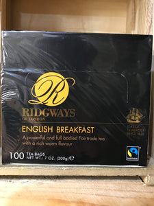 Ridgways English Breakfast Tea Bags 100 (200g)