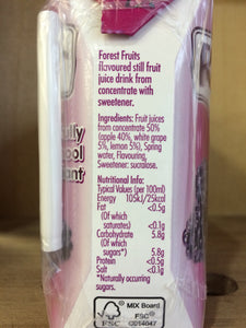 Radnor Fruits Forest Fruits 3 x 200ml Drink