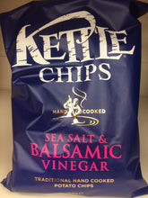Kettle Chips Sea Salt & Balsamic Vinegar Box of 8x 150g