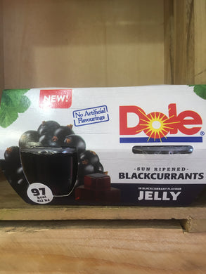 Dole Sun Ripened Blackcurrants In Jelly 4x Pack (4x123g)