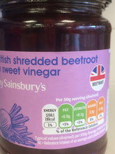British Shredded Beetroot in Sweet Vinegar 340g